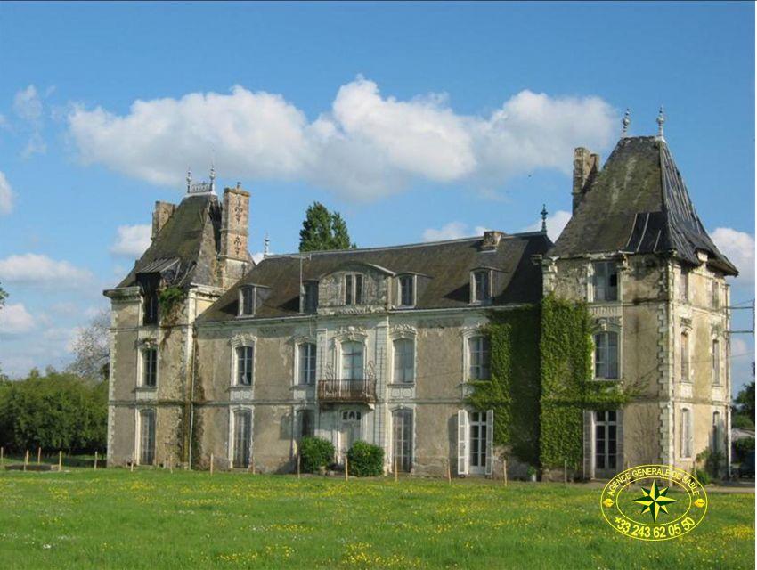 façade château XIXème