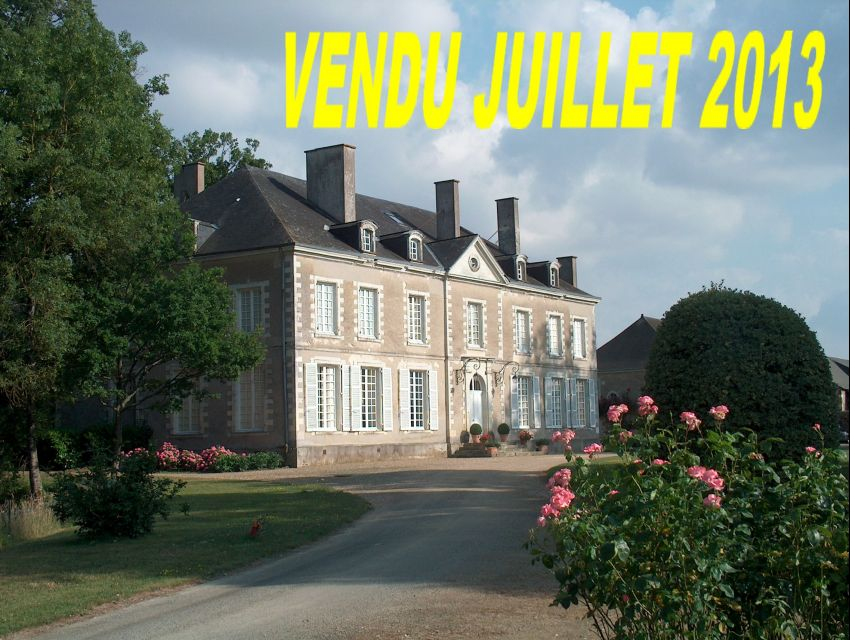 immobilier Sarthe (72):Château  Mayenne Sud (Mayenne Angevine)