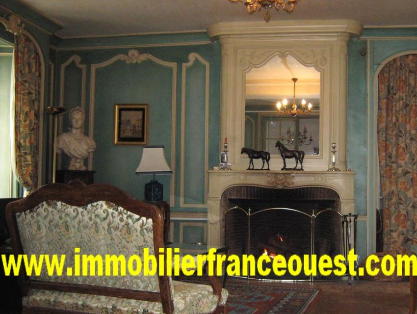 immobilier Sarthe (72):5. Beaux éléments architecturaux.