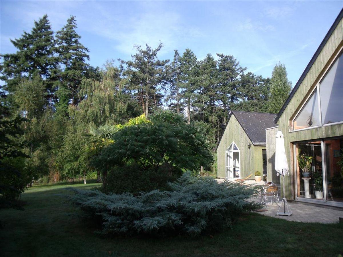 maison d'architecte contemporaine - sarthe - 25 minutes le mans gare