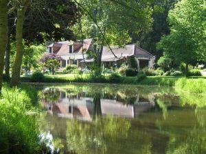 propriété de charme et caractère en bord de rivière région de Sablé sur Sarthe (72) à vendre