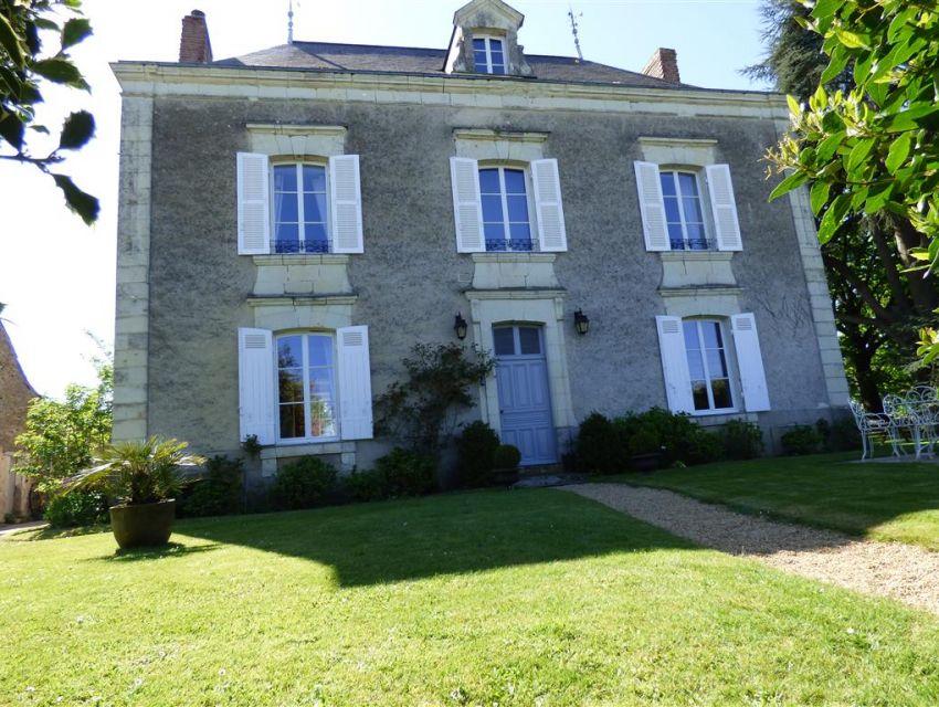 Propriété - Maison de Maitre - Maison bourgeoise -charme et caractere - Haut-Anjou