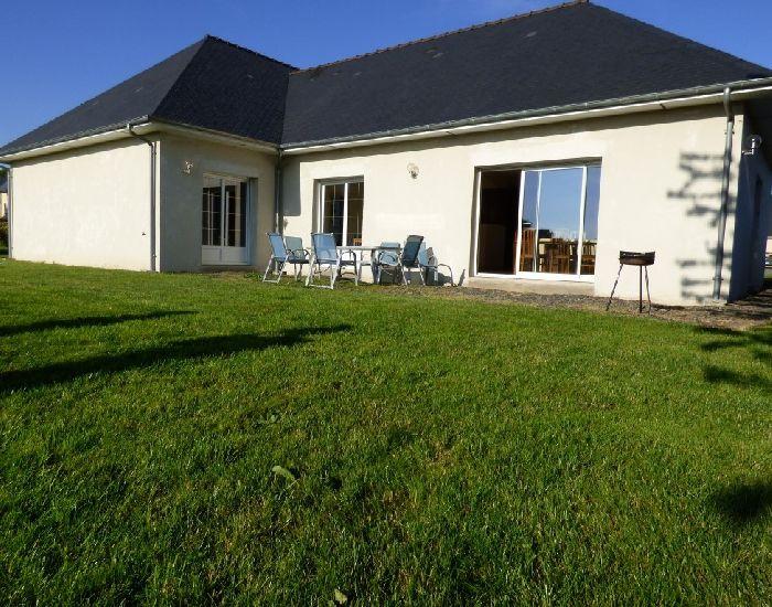 pavillon plain-pied géothermie et prestations haut de gamme  région Sablé sur Sarthe -