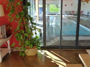 Propriété Mayenne sud - Haut Anjou - piscine intérieure - villa d'architecte à vendre