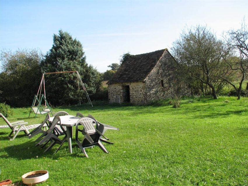 bergerie d'une fermette Sarthoise dans la region de Brulon