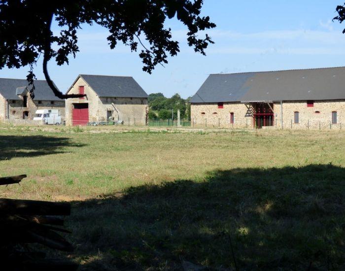 fermette mayennaise en Haut-Anjou.