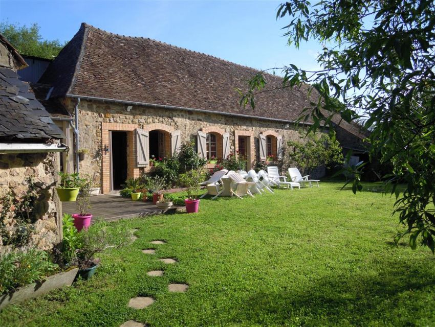 Fermette sarthoise proximité Brulon (Sarthe)