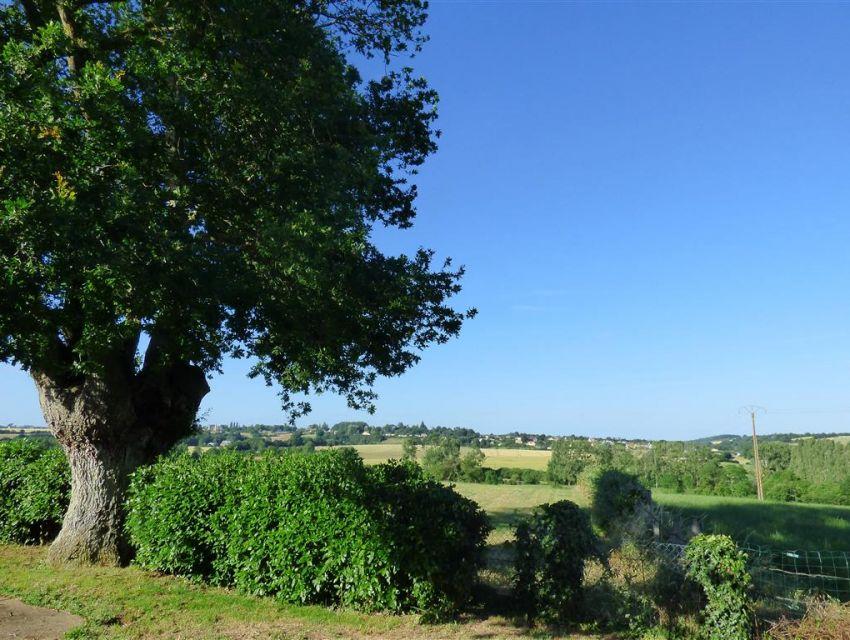Point de vue sur la campagne Brulonnaise.