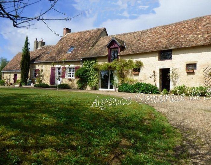 Maison de charme et caractère en Sarthe - Pays de la Loire