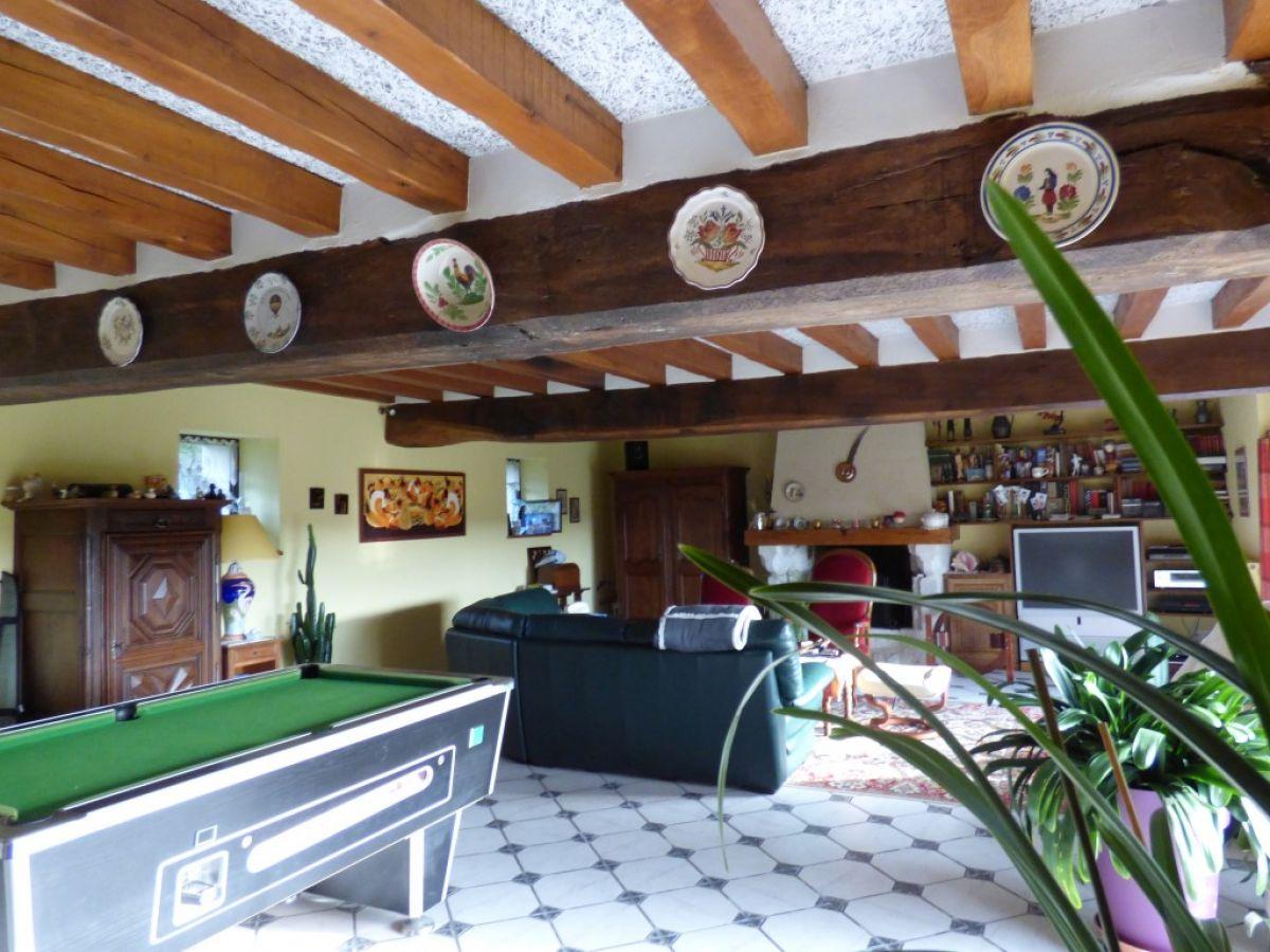 Confortable Longere Restauree Avec Dependance Et Terrain Clos Axe Le