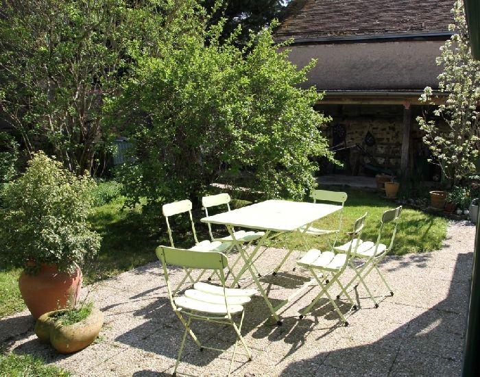 maison a vendre à sablé sur sarthe avec jardin clos sans vis à vis