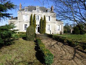 maison de maître avec jardin de curé -  propriete de charme et de caractere région de Sablé 72300  à vendre