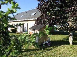 maison proche de brulon (72350)  avec garage jardin et terrasse. à vendre