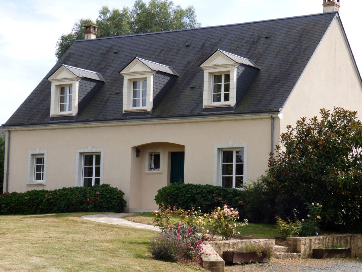 Solesmes 7 minutes centre sabl sur sarthe villa 180 m - Pavillon residentiel moderne gurney architecte ...